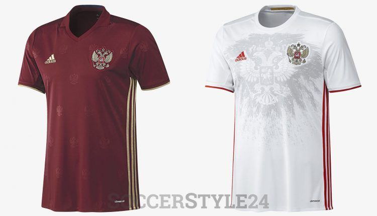 Maglie Russia Europei 2016
