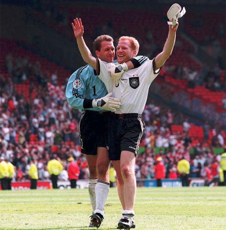 Sammer porta la Germania in semifinale, Euro 1996