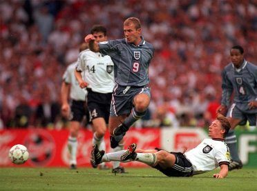 Shearer, Inghilterra-Germania Euro 1996