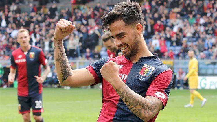 Gol Genoa, Suso esulta
