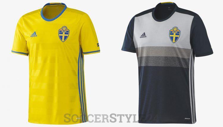 Maglie Svezia Europei 2016 adidas