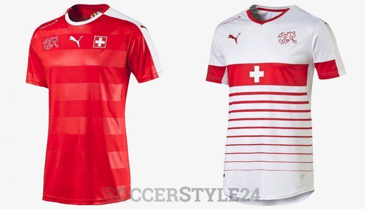 Maglie Svizzera Europei 2016 Puma
