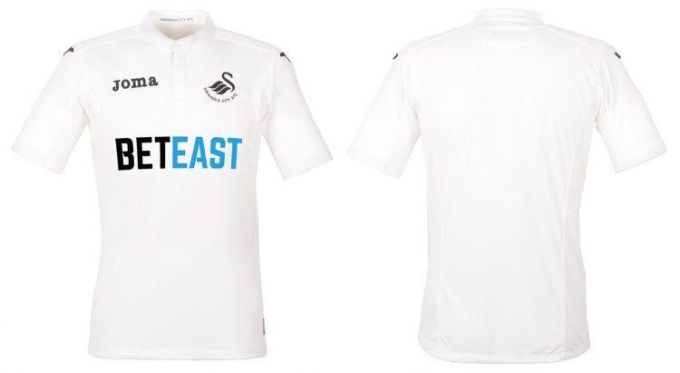 Maglia Swansea City 2016-2017 Joma
