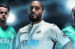 Presentazione maglie Swansea City 2016-17
