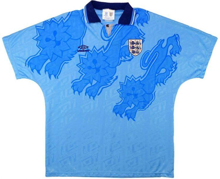 Terza maglia Inghilterra 1992-1993