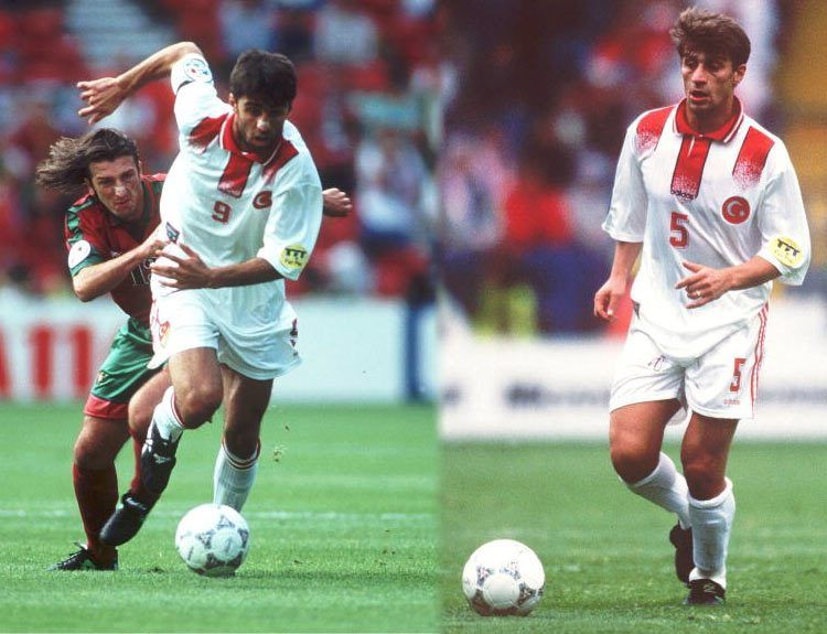 Turchia seconda maglia Euro 1996 adidas