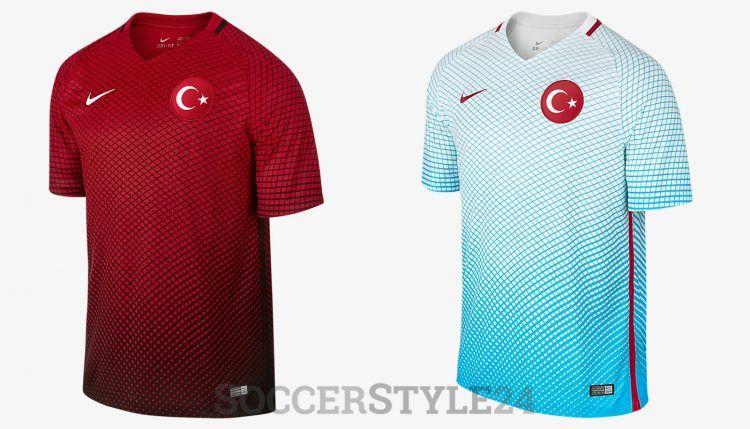 Turchia maglie Europei 2016 Nike