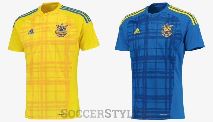 Maglie Ucraina Europei 2016 adidas