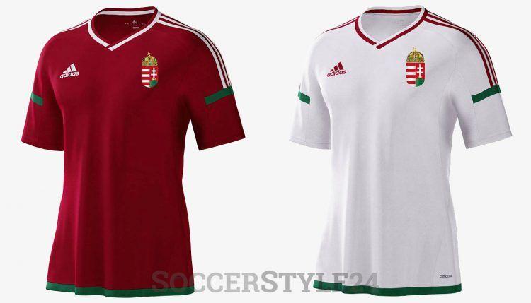 Ungheria maglie Euro 2016 adidas