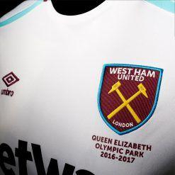 Stemma nuovo maglia away West Ham