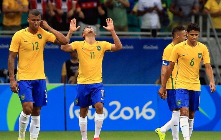 Maglia Brasile Olimpiadi 2016