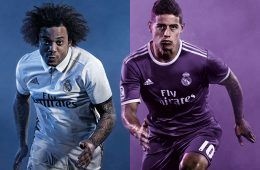 Cover Real Madrid maglie 2016-17