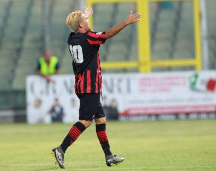 Retro maglia Foggia font 2016-17
