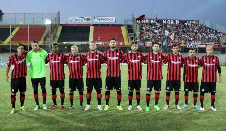 Divisa Foggia 2016-2017 rossonera Nike