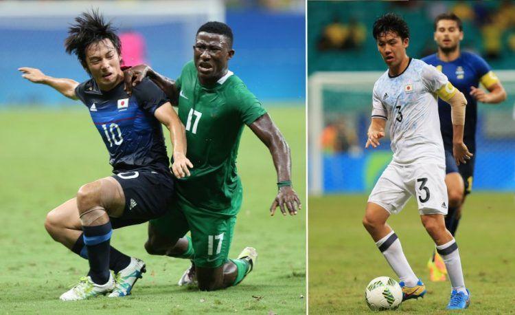 Giappone Olimpiadi Rio 2016 calcio
