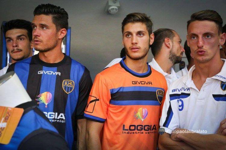Latina terza maglia 2016-2017 arancione