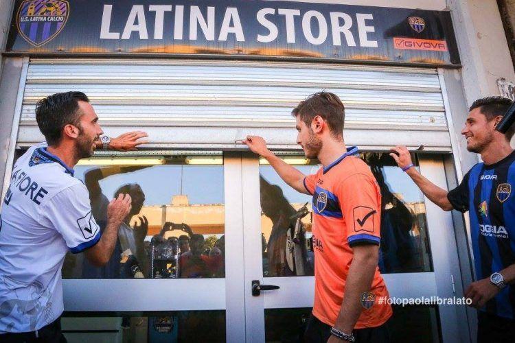 Latina maglie Serie B 2016-2017