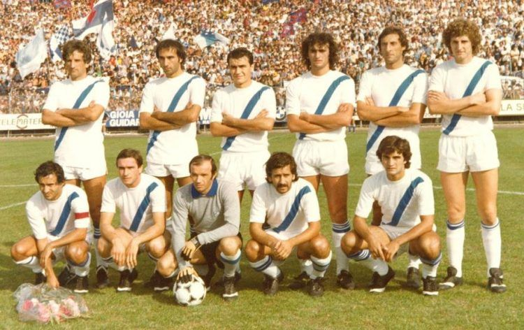 La maglia del Matera 1979-80 in Serie B