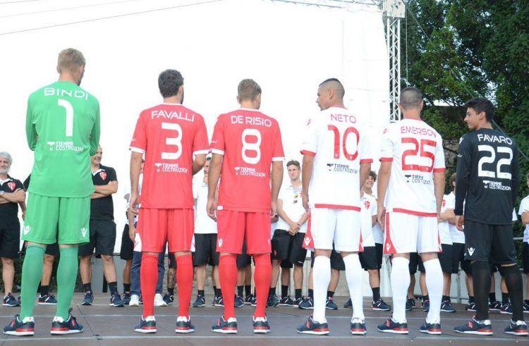 Font nomi numeri Padova Calcio 2016-17
