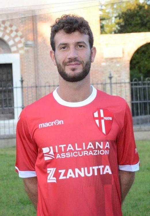 Seconda maglia Padova 2016-2017 rossa