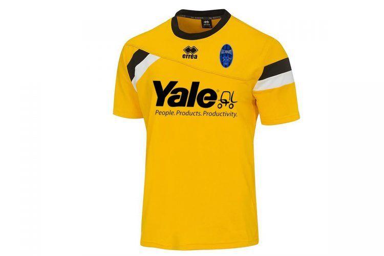 Seconda maglia Renate 2016-17 gialla