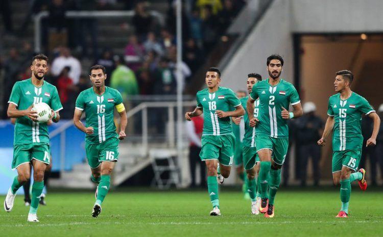 Iraq maglia away adidas Olimpiadi 2016
