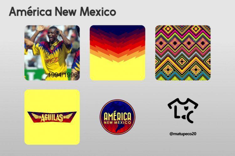 America New Mexico Kit Dettagli