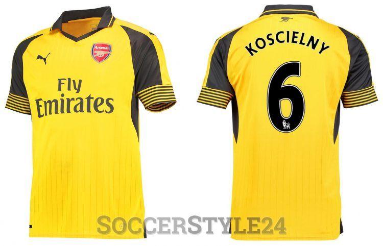 Seconda maglia Arsenal 2016-2017