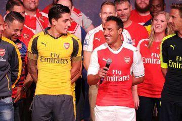 Presentazione maglie Arsenal 2016-2017