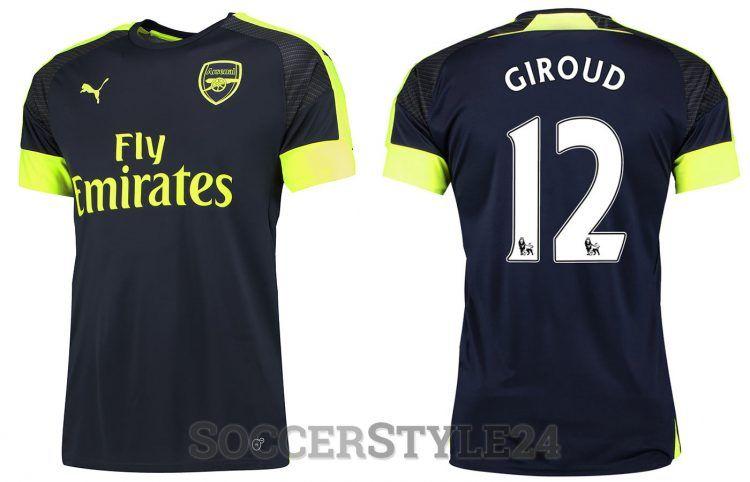 Arsenal terza maglia 2016-2017