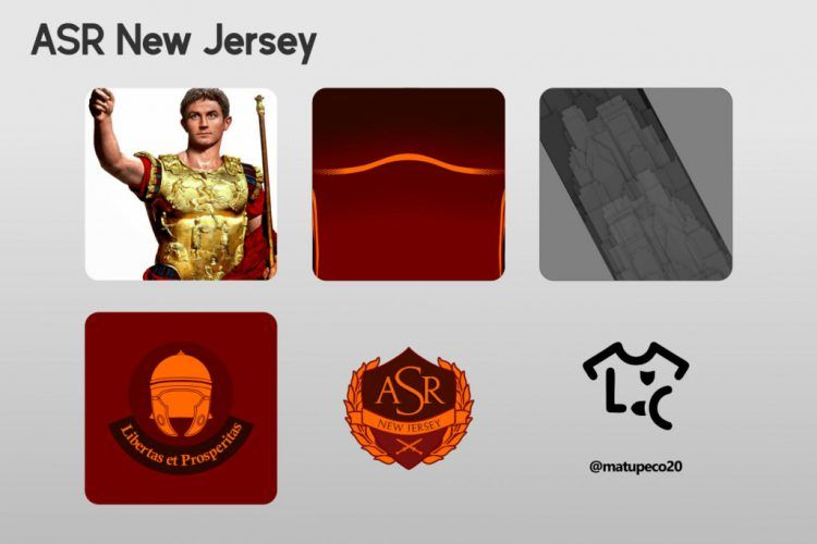ASR New Jersey Kit Dettagli