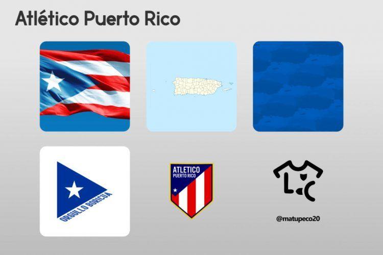 Atletico Puerto Rico Kit Dettagli