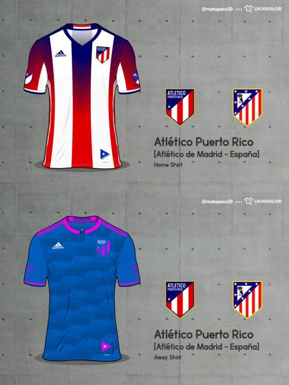 Atletico Puerto Rico Home Away