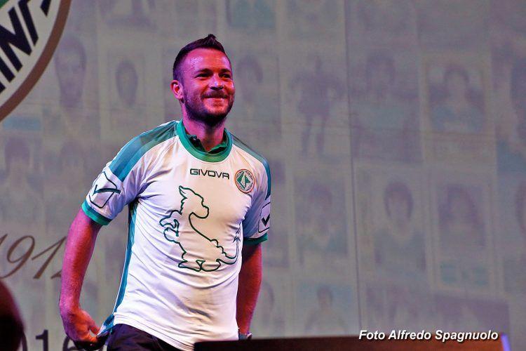 Seconda maglia Avellino 2016-2017