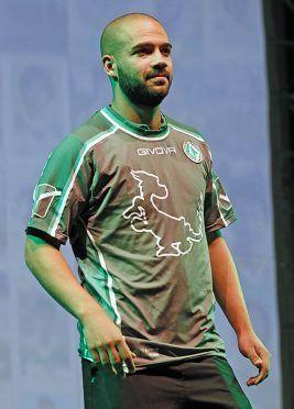 Terza maglia Avellino 2016-17