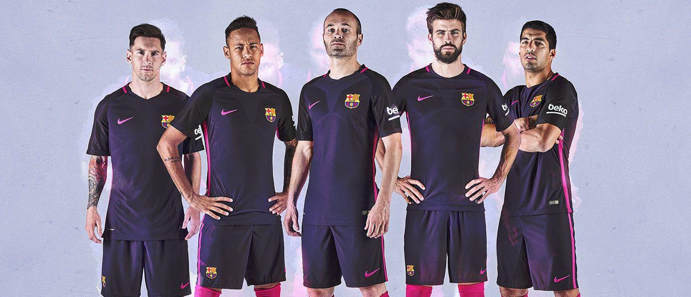 Divisa Barcellona away 2016-17