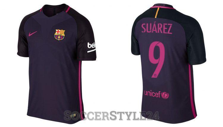 Seconda maglia Barcellona 2016-17