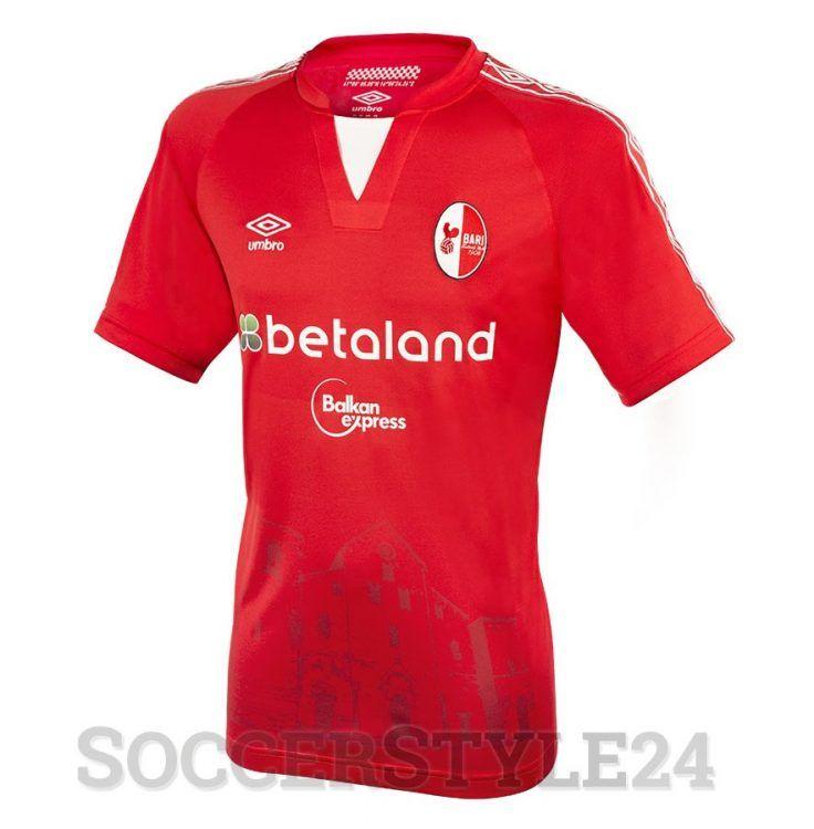 Seconda maglia Bari 2016-2017 rossa