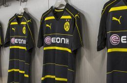 Borussia Dortmund kit away 16-17