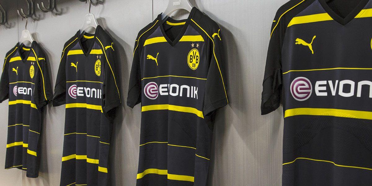 Borussia Dortmund kit away 16-17