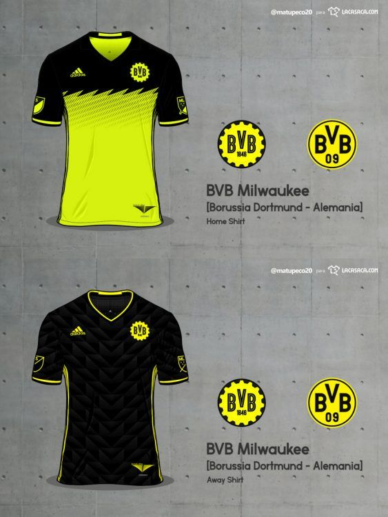BVB Milwaukee Home Away