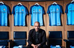 Guardiola kit Manchester City 2016-17