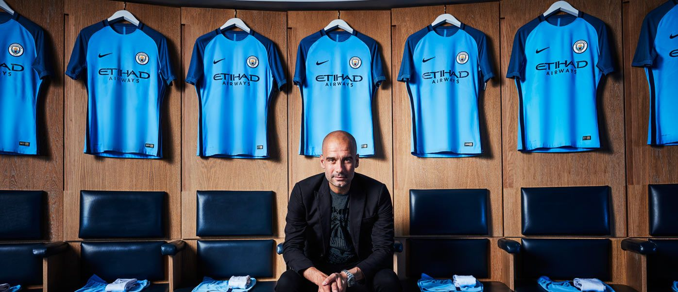 Guardiola kit Manchester City 2016-17