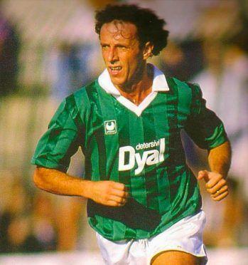 Dirceu maglia Avellino 1986-1987 Uhlsport
