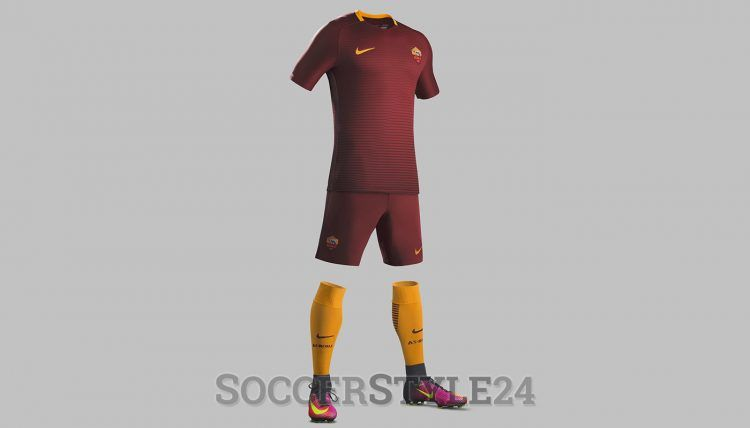 Divisa AS Roma 2016-2017 Nike