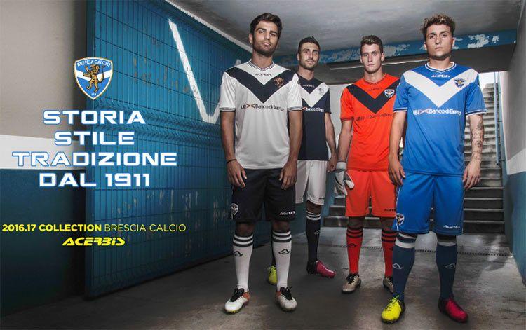 Presentazione maglie Brescia Calcio 2016-17 Acerbis