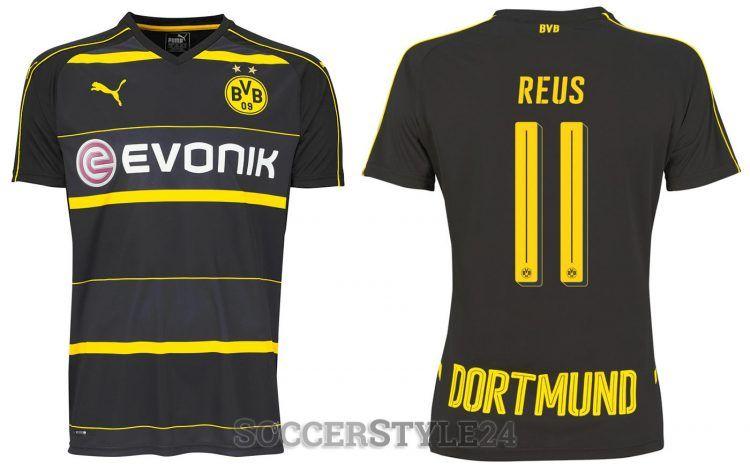 Seconda maglia Borussia Dortmund 2016-2017 Puma