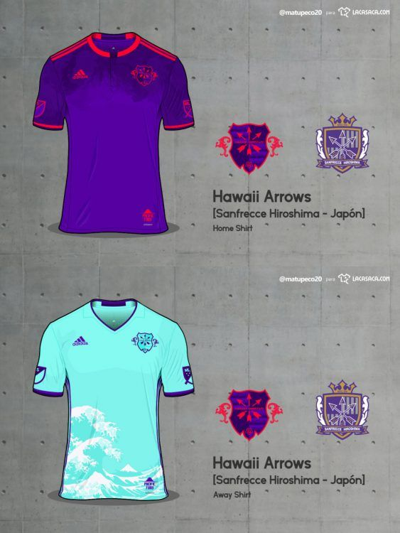 Hawaii Arrows Home Away