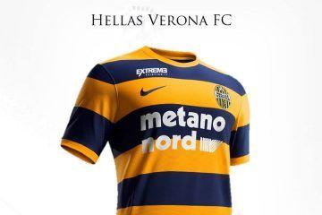 Presentazione maglia Hellas Verona 2016-17