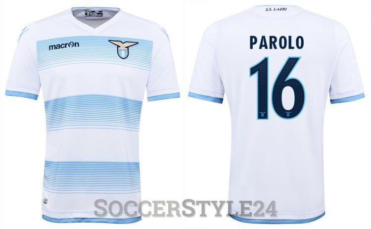 Terza maglia Lazio 2016-2017 Parolo